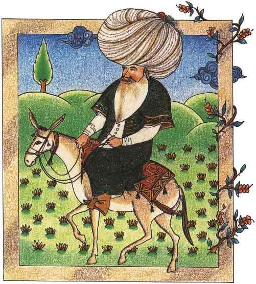 Nasrudín, protagonitas de varios cuentos de Callejo